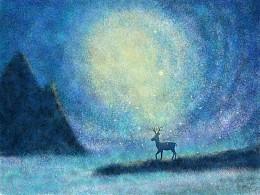 迷路の麋鹿