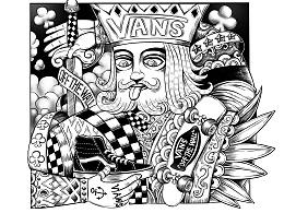 #VANS艺术家#插画作品