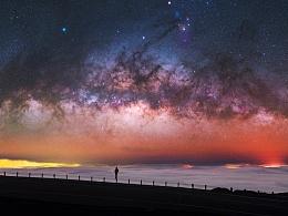 来自?#34109;?9度的繁星:夏威夷MaunaKea绝美星空 | 完整版