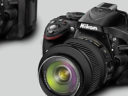 写实UI绘制——Nikon D5200