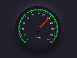 汽车仪表盘图标