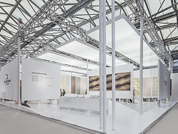 森林之星地板展厅设计——国际地面铺装展会