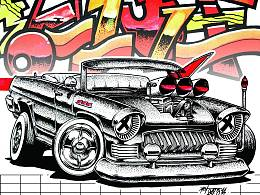 """LOW RIDER 红旗CA770 """"the RED RHINO"""""""