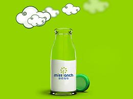 妙思牧场酸奶吧品牌形象全案设计
