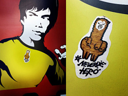 关注我们身边的贴纸街头艺术!