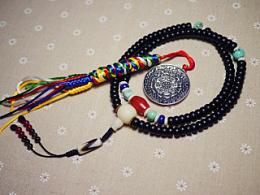 DIY南红、绿松石配珠椰壳手串