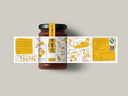 一款蜂蜜包装