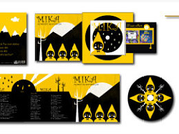 MIKA CD PACKAGING DESIGN