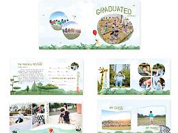 幼儿园毕业册相册照片书模板