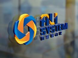 阿李自动化logo设计