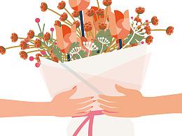 [沃森作品]鲜花港-一朵鲜花/一个舒适的清晨时光[产品说明篇]