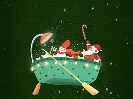 圣诞节快乐,时刻准备着~