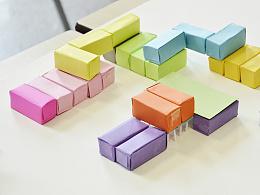 """黑橋""""活力魔方""""改造設計 #建筑設計 #室内设计 #集装箱"""