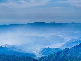 登山雾灵山