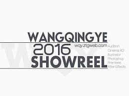 2016年个人作品剪辑ShowReel