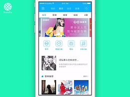 音乐播放App之百度 with ProtoPie
