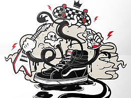 #VANS#OFF THE WALL