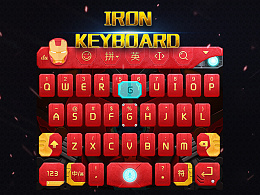 Iron keyboard