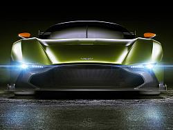 Aston Martin Vulcan渲染