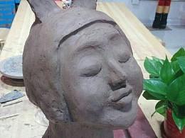 创意工坊泥塑摆件作品