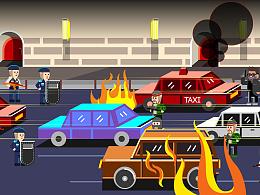 《拆弹专家》像素动画美术