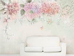 壁画设计作品