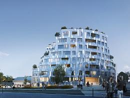 法国雷恩8,200平方米新住宅开发设计  MVRDV