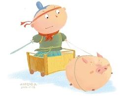 儿童插画,故事配图