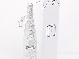 River Run桃红葡萄酒包装设计