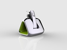 车载绿色能源耳机