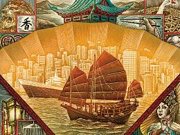 湘江上的香港