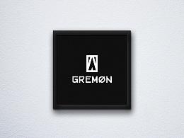 GREMON(独牙鬼)的logo设计