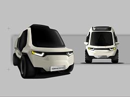 Handerson新能源递送车辆概念设计