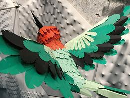 纸艺——向Hermes橱窗致敬