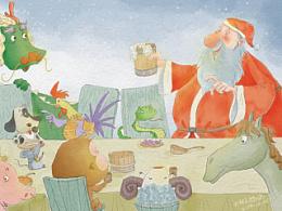 2014圣诞贺图