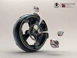 【spyder系列】摩托车车轮设计