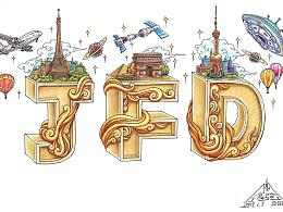 《JFD》彩铅手绘插图