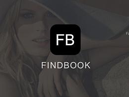 FINDBOOK APP DESIGN