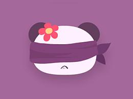 忧郁的兰花紫