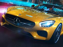 CGI_Mercedes Benz AMG GT