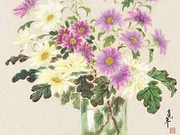 《玻璃樽系列——秋之趣》
