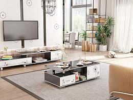 简约电视柜设计--家具3D效果制作 家具3D设计 家具设计 室内设计