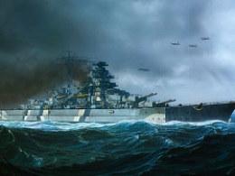 Bismarck-巨舰时代系列插图