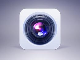 相机icon练习(附psd)