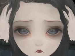 CG绘画无题 2014