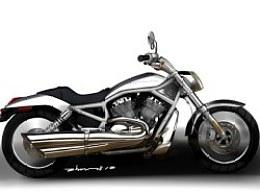 上学时画的摩托车