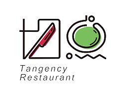 切点餐厅logo品牌设计