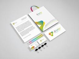 启点艺术工场 VI设计 品牌设计 视觉设计 logo设计 标志设计 名片设计 包装设计 平面设计