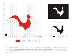 鸡年标志设计