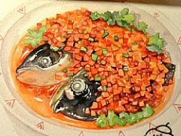 手绘美食——剁椒鱼头
